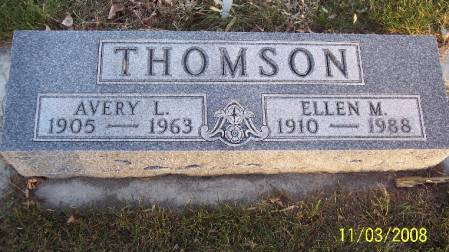 THOMSON, ELLEN M - Plymouth County, Iowa | ELLEN M THOMSON