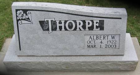 THORPE, ALBERT WILLIAM - Plymouth County, Iowa | ALBERT WILLIAM THORPE