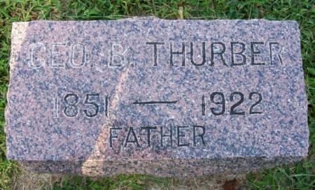 THURBER, GEORGE B. - Plymouth County, Iowa   GEORGE B. THURBER