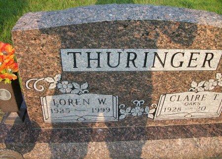 THURINGER, LOREN W. - Plymouth County, Iowa | LOREN W. THURINGER