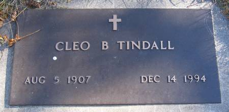 GABEL TINDALL, CLEO BLANCHE - Plymouth County, Iowa   CLEO BLANCHE GABEL TINDALL
