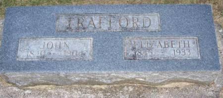 TRAFFORD, ELIZABETH - Plymouth County, Iowa | ELIZABETH TRAFFORD