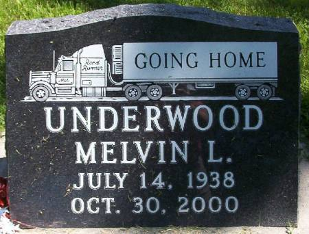 UNDERWOOD, MELVIN L. - Plymouth County, Iowa | MELVIN L. UNDERWOOD