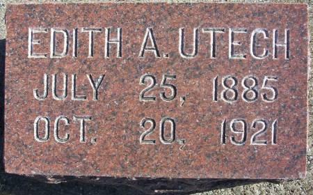 UTECH, EDITH A. - Plymouth County, Iowa | EDITH A. UTECH
