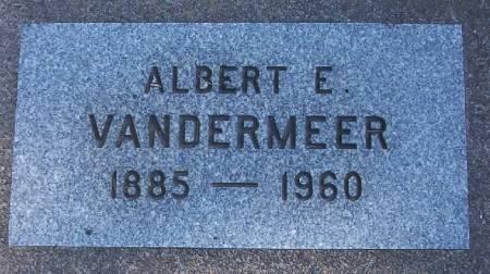 VANDER MEER, ALBERT E. - Plymouth County, Iowa | ALBERT E. VANDER MEER
