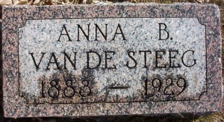 VAN DE STEEG, ANNA B. - Plymouth County, Iowa | ANNA B. VAN DE STEEG