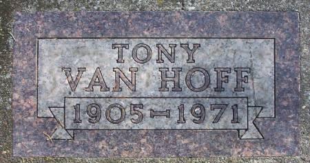 VAN HOFF, TONY - Plymouth County, Iowa | TONY VAN HOFF