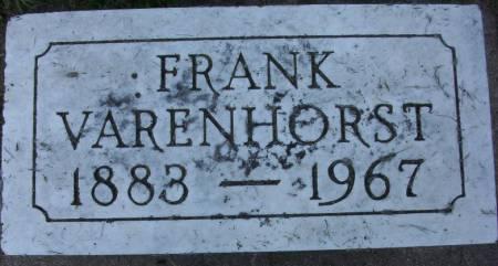 VARENHORST, FRANK - Plymouth County, Iowa | FRANK VARENHORST