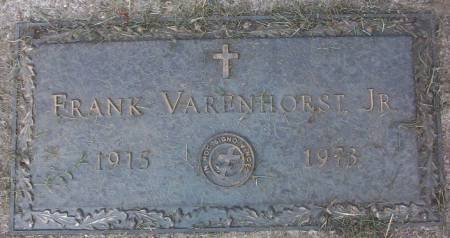 VARENHORST, FRANK, JR. - Plymouth County, Iowa | FRANK, JR. VARENHORST