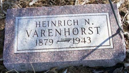 VARENHORST, HEINRICH N. - Plymouth County, Iowa   HEINRICH N. VARENHORST
