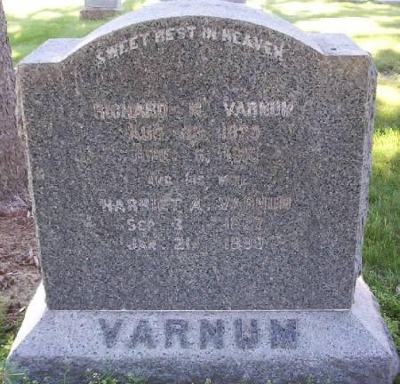 VARNUM, RICHARD M - Plymouth County, Iowa   RICHARD M VARNUM