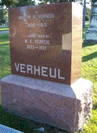 VERHEUL, MARTIN K. - Plymouth County, Iowa | MARTIN K. VERHEUL