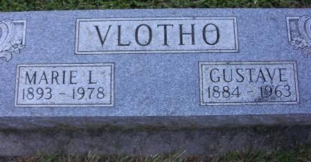 VLOTHO, GUSTAVE - Plymouth County, Iowa | GUSTAVE VLOTHO