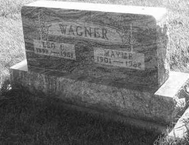 WAGNER, MAYME - Plymouth County, Iowa | MAYME WAGNER