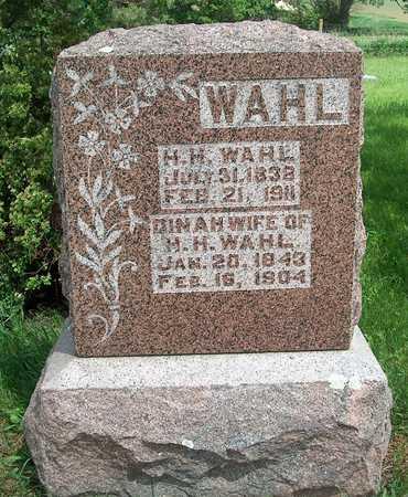 WAHL, DINAH - Plymouth County, Iowa   DINAH WAHL