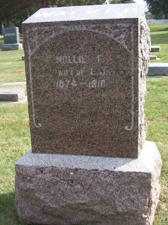 WALKER, MOLLIE F. - Plymouth County, Iowa | MOLLIE F. WALKER