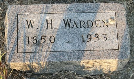 WARDEN, W. H. - Plymouth County, Iowa | W. H. WARDEN