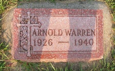 WARREN, ARNOLD - Plymouth County, Iowa | ARNOLD WARREN