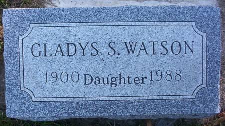WATSON, GLADYS S. - Plymouth County, Iowa | GLADYS S. WATSON