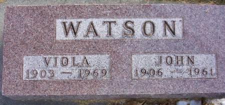 WATSON, JOHN R. - Plymouth County, Iowa | JOHN R. WATSON
