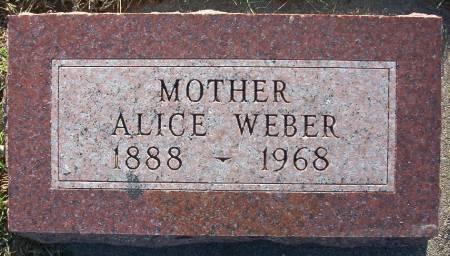 WEBER, ALICE - Plymouth County, Iowa   ALICE WEBER