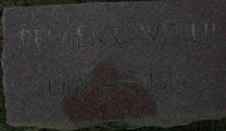 WEBER, REUBEN C. - Plymouth County, Iowa | REUBEN C. WEBER