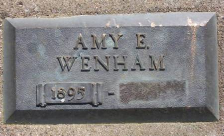 WENHAM, AMY E. - Plymouth County, Iowa | AMY E. WENHAM