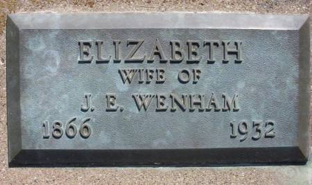 WENHAM, ELIZABETH E. - Plymouth County, Iowa | ELIZABETH E. WENHAM