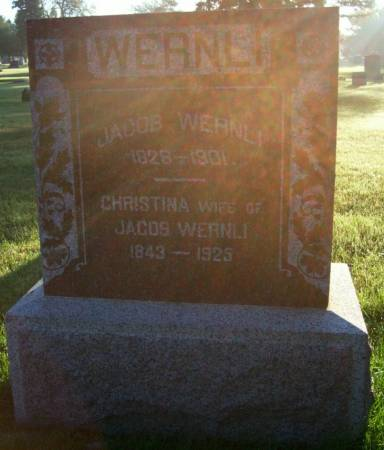 WERNLI, JACOB - Plymouth County, Iowa | JACOB WERNLI