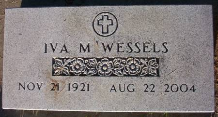 WESSELS, IVA MILDRED - Plymouth County, Iowa | IVA MILDRED WESSELS