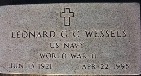 WESSELS, LEONARD G. C. - Plymouth County, Iowa | LEONARD G. C. WESSELS