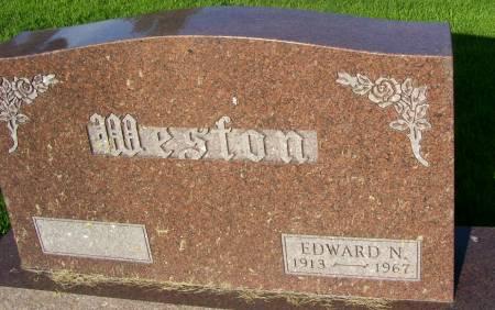 WESTON, EDWARD N. - Plymouth County, Iowa | EDWARD N. WESTON