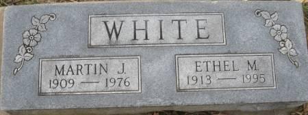 WHITE, ETHEL M. - Plymouth County, Iowa   ETHEL M. WHITE