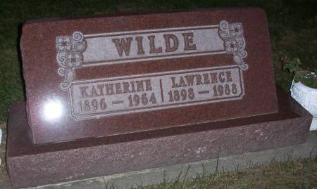 WILDE, LAWRENCE - Plymouth County, Iowa | LAWRENCE WILDE