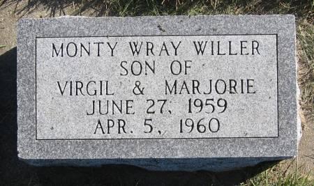 WILLER, MONTY WRAY - Plymouth County, Iowa | MONTY WRAY WILLER