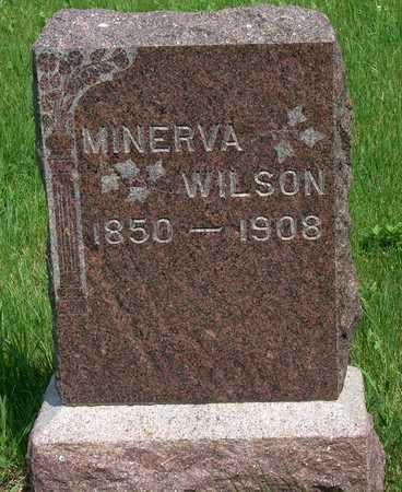 WILSON, MINERVA - Plymouth County, Iowa   MINERVA WILSON