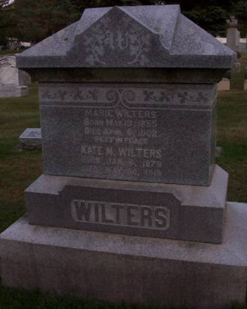 WILTERS, KATE M. - Plymouth County, Iowa | KATE M. WILTERS