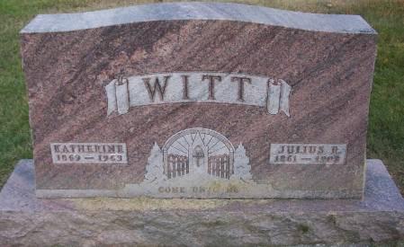 WITT, KATHERINE - Plymouth County, Iowa | KATHERINE WITT