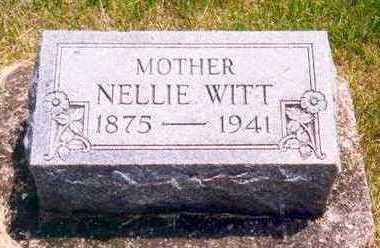 EWIN WITT, NELLIE - Plymouth County, Iowa | NELLIE EWIN WITT