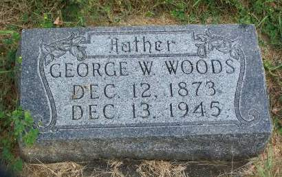 WOODS, GEORGE - Plymouth County, Iowa | GEORGE WOODS