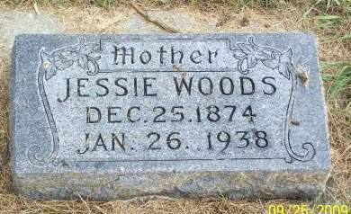 WOODS, JESSIE - Plymouth County, Iowa | JESSIE WOODS