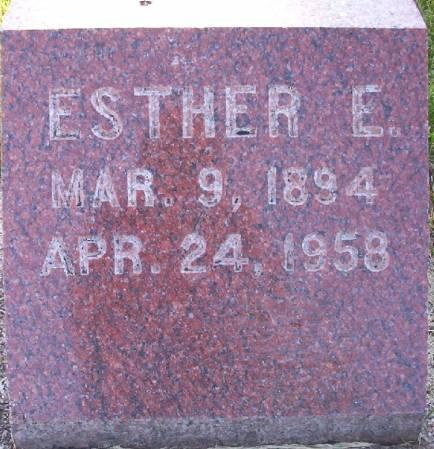 ZIMMERMAN, ESTHER E. - Plymouth County, Iowa | ESTHER E. ZIMMERMAN