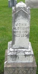 ALBRIGHT, JOHN - Pocahontas County, Iowa | JOHN ALBRIGHT
