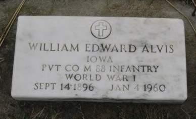 ALVIS, WILLIAM EDWARD - Pocahontas County, Iowa | WILLIAM EDWARD ALVIS