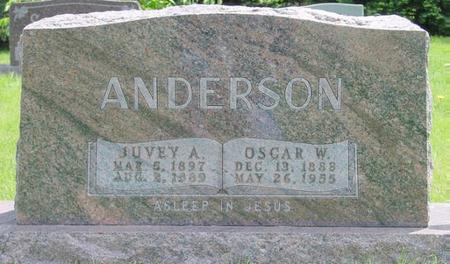 ANDERSON, JUVEY - Pocahontas County, Iowa | JUVEY ANDERSON