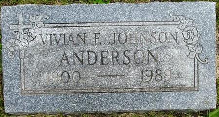 ANDERSON, VIVIAN - Pocahontas County, Iowa | VIVIAN ANDERSON