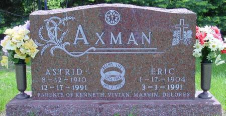 AXMAN, ERIC - Pocahontas County, Iowa | ERIC AXMAN
