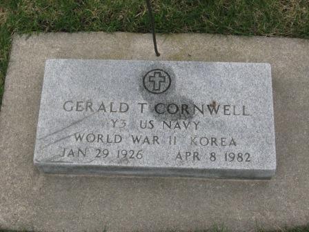 CORNWELL, GERALD T. - Pocahontas County, Iowa | GERALD T. CORNWELL