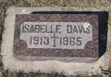 DAVIS, ISABELLE - Pocahontas County, Iowa | ISABELLE DAVIS