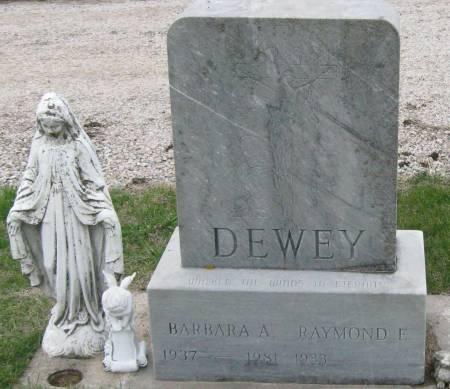 DEWEY, BARBARA - Pocahontas County, Iowa   BARBARA DEWEY